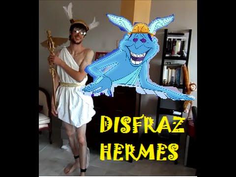 DIY Disfraz de HERMES- personaje Hércules (DISNEY)