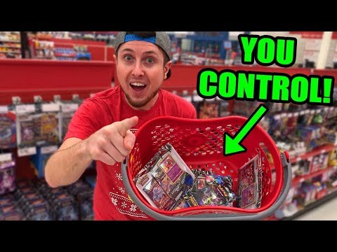 YOU CONTROL Which PACKS OF POKEMON CARDS I BUY AT THE STORE! Opening Mp3