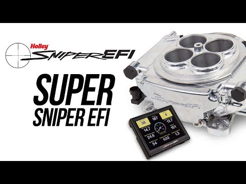 Super Sniper EFI - Supports up to 1250 HP