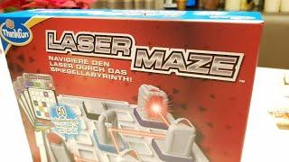 Laser Maze - das Logik Spiel mit einem Laser
