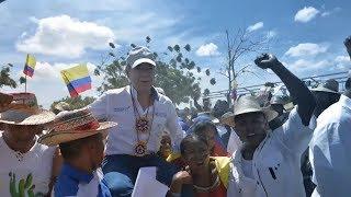 Santos destacó que en Colombia bajaron significativamente los índices de pobreza | Kholo.pk