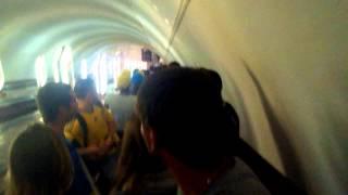 В метро після матчу Україна Нігер