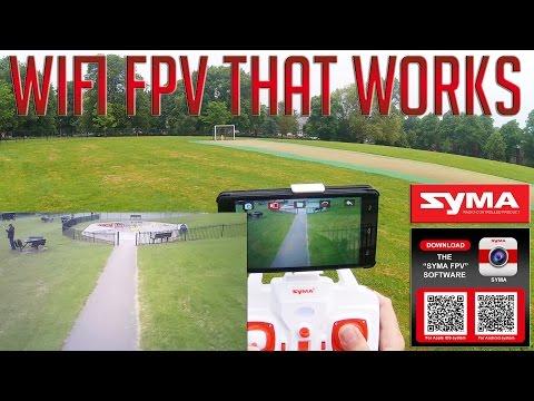 Syma X8HW - WIFi FPV FUN