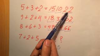 3 CHALLENGING MATHEMATICAL RIDDLES