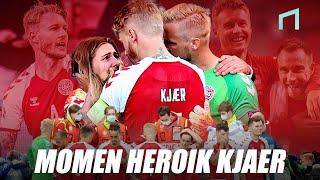 Simon Kjaer dan Kisah Kepahlawanannya Di Ajang EURO 2020
