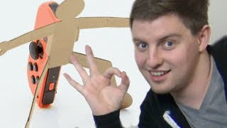 TWO GROWN MEN PLAY WITH NINTENDO LABO
