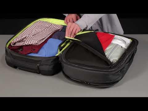 Thule Subterra TSR-356MIN 56L gurulós bőrönd, sötétkék
