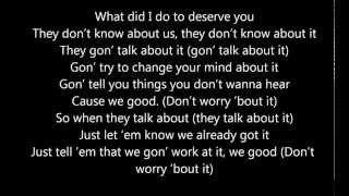 Chris Brown Ft Aaliyah - Don't Think They Know (Lyrics on Screen) HD