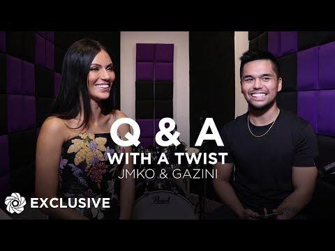 Q and A with a Twist - Gazini Ganados x JMKO