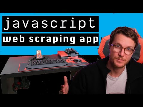 Building a full stack WEB SCRAPING app with JAVASCRIPT tutorial