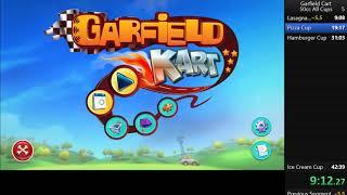 Garfield Kart 50cc All Cups Speedrun  41:58