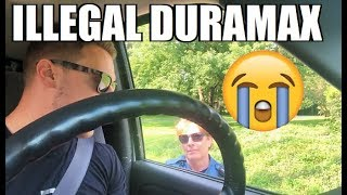 """ILLEGAL"" DURAMAX Pulled Over AGAIN!!! Cop Says My Driving Record is ""Terrible""..."