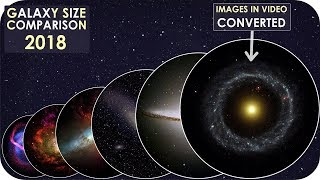 Galaxies Size Comparison 2018