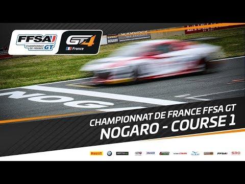 Championnat de France FFSA GT – Nogaro – Course 1
