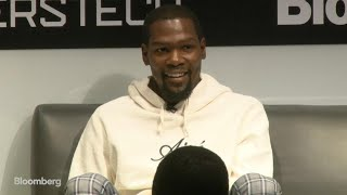 Golden State Warriors' Kevin Durant on Thirty Five Media and The Durant Company