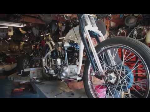 Kick Start - 4 Cam Knucklehead Modified Harley-Davidson