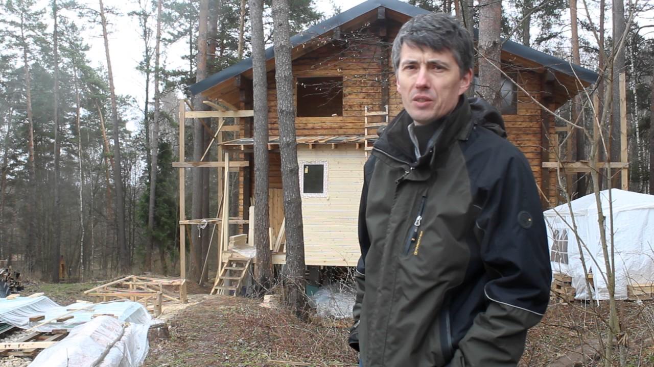 Отзыв о строительстве дома. Константин Заокский