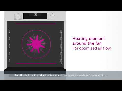 Bosch Single Oven Electric HBG5585S6B - Stainless Steel Video 2