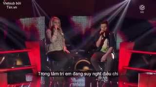 [VIETSUB] All Of Me - Richard ft. Jasmin - Live at The Voice Kids of Germany