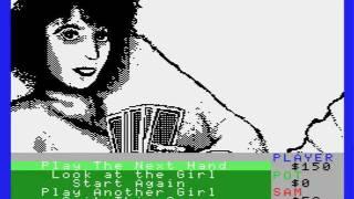 Strip Poker II Plus (Anco Software, 1988). Recuerdos De 8 Bits