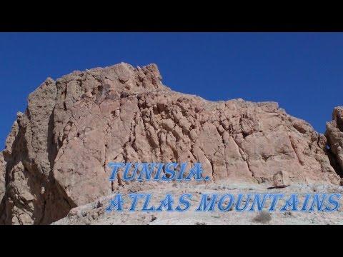 #Тунис. Древние Атласские #горы.