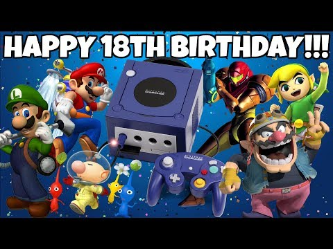 HAPPY 18TH BIRTHDAY NINTENDO GAMECUBE! - ZakPak