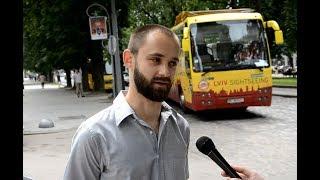 «Що?! Порошенко подарував нам безвіз?!», - львів'яни про безвізовий режим з ЄС