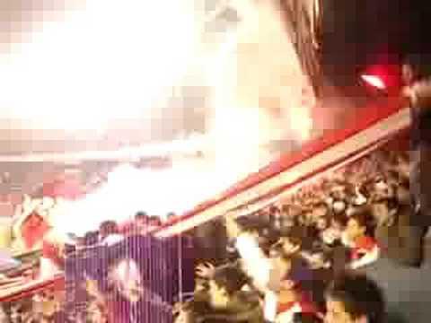 """""""Independiente vs Estudiantes Copa Nissan Sudamericana"""" Barra: La Barra del Rojo • Club: Independiente • País: Argentina"""