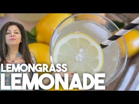 Lemongrass Lemonade | Summer Drinks | Kravings