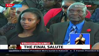 THE FINAL SALUTE: [Full Service] Church leaders lead mourners in service during Mzee Moi's burial