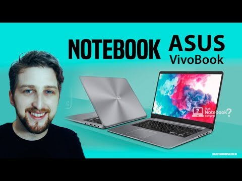 Notebook Asus Vivobook X510 recomendado para comprar 2018