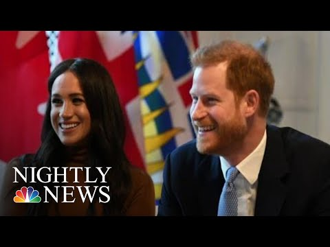 Queen 'Supportive' Of Harry And Meghan, Agrees To 'Period Of Transition' | NBC Nightly News