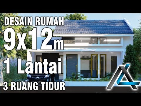 Rumah Minimalis 2 Lantai Ukuran 9x12  desain rumah 9 x 12