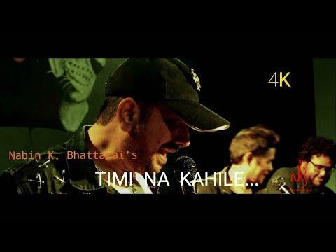 Timi Na Khaile by Nabin K Bhattarai featuring Angel    Nepali Pop Song    2018    4K