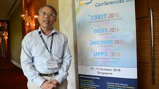 Dr. Liangwen Kuo at JMComm Conference 2016 by GSTF Singapore