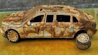 Restoration MERCEDES old | Rusty model super car toys MERCEDES restoration