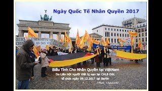 Ngày Quốc Tế Nhân Quyền 9.12.2017 tại Berlin – Jens Gnis