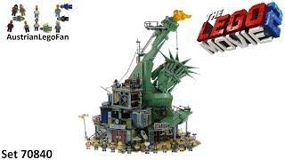 Lego Movie 2 70840 Welcome to Apocalypseburg! Speed Build