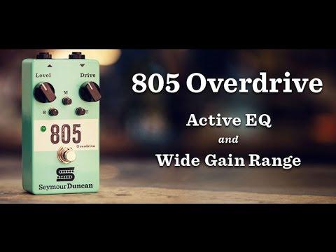 SEYMOUR DUNCAN 805 Overdrive Pedal Kytarový efekt