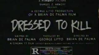 Trailer of Dressed to Kill (1980)