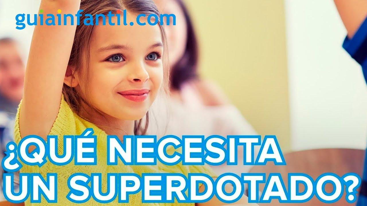 Necesidades de los niños superdotados en el colegio