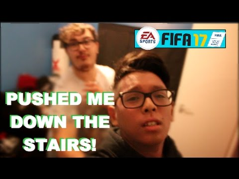 SNAPPING  MY FRIENDS FIFA 17 (Gone Extremely Wrong)
