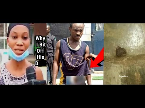 Lady Bites Off Man's After He Tries 2 Rob Her