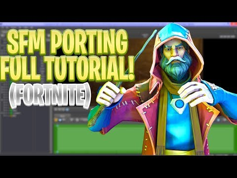 HOW TO PORT FORTNITE MODELS FROM UMODEL TO SFM!! IN DEPTH AND EASY