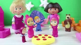 Maşanın Doğum Günü Kutlamasına Kimler Katılıyor Masha ile Koca Ayı Çizgi Film