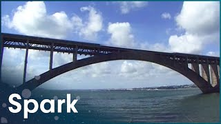 Building The Biggest Concrete Structures | How Did They Build That? | Spark