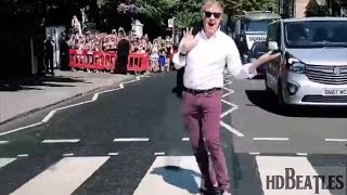 Paul McCartney crosses Abbey Road 49 years after iconic album cover Shoot Ahead Of Intimate Gig
