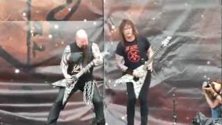 Slayer - Dead Skin Mask - The Big IV - Sonisphere 2011 - Knebworth