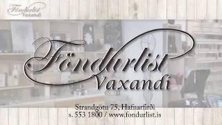 Föndurlist – gerðu þitt eigið listaverk