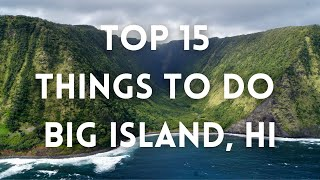 What to do in big island of hawaii